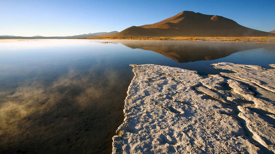High Elevation Reflection, Bolivia