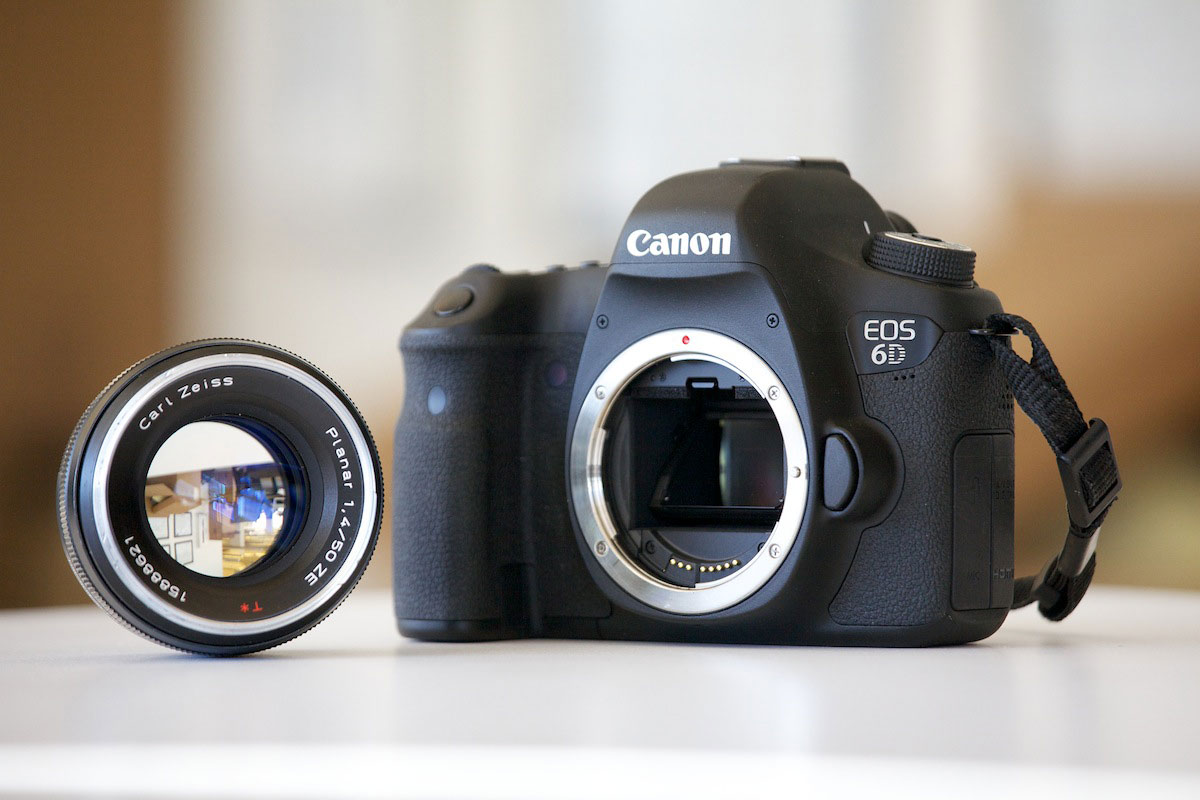 Canon 6D with Zeiss Lens