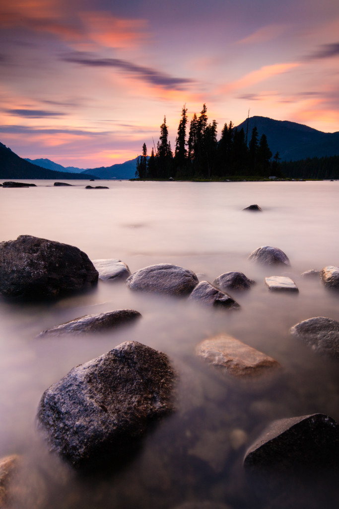 Canon 5Ds R with Canon 16-35 F4 IS Long Exposure NORTH CASCADE SUNSET