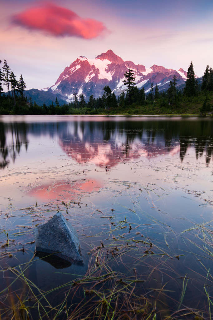 Canon 5Ds R with Canon 16-35 F4 IS Sunset Long Exposure Mt. Shuksan1